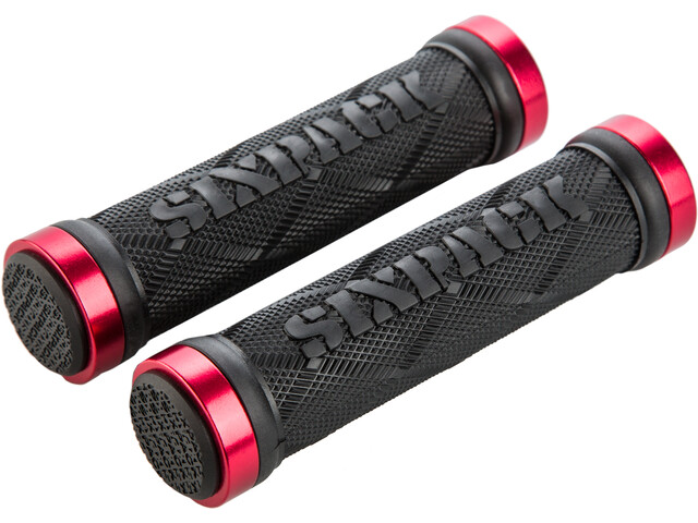 Sixpack Fingertrix Lock-On Grips red/black